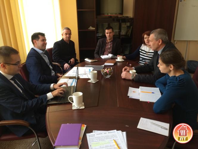Представники ЄБРР відвідали «Луцьктепло»