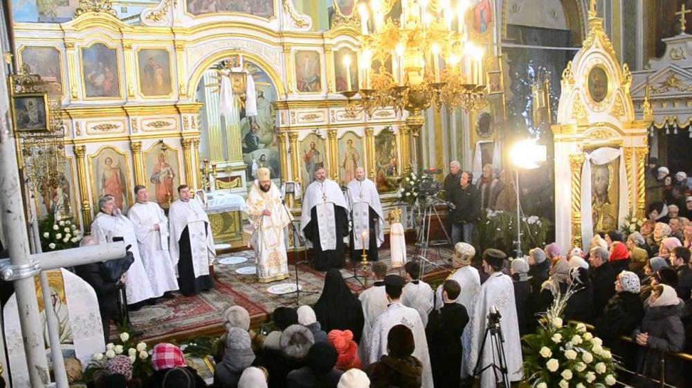 У луцькому соборі оголосили розклад різдвяних Богослужінь