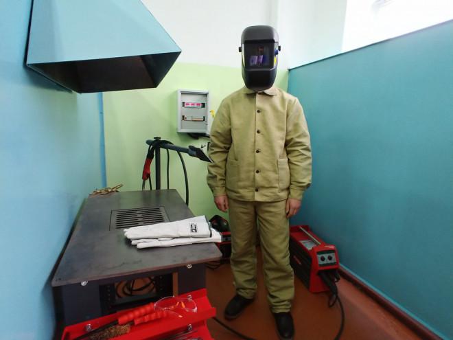 У Володимирі-Волинському навчатимуть електрогазозварників на сучасному обладнанні. ФОТО