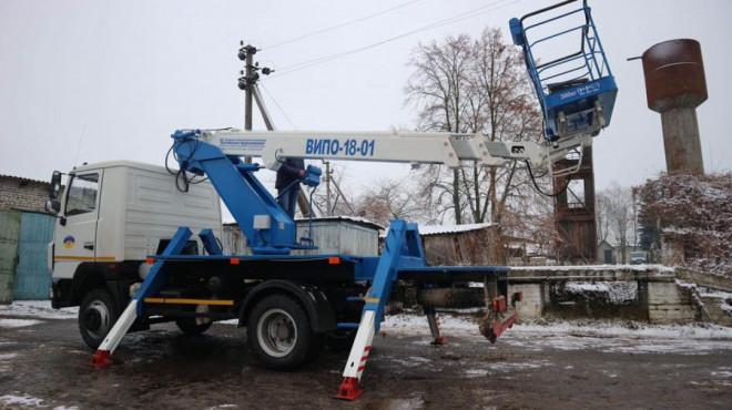 В Любешівській ОТГ за рахунок інфраструктурної субвенції придбали п'ять одиниць спецтехніки