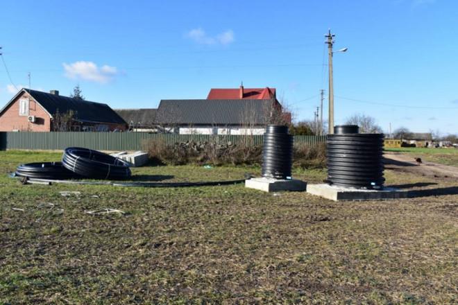 В ОТГ на Волині завершують будівництво водопроводу