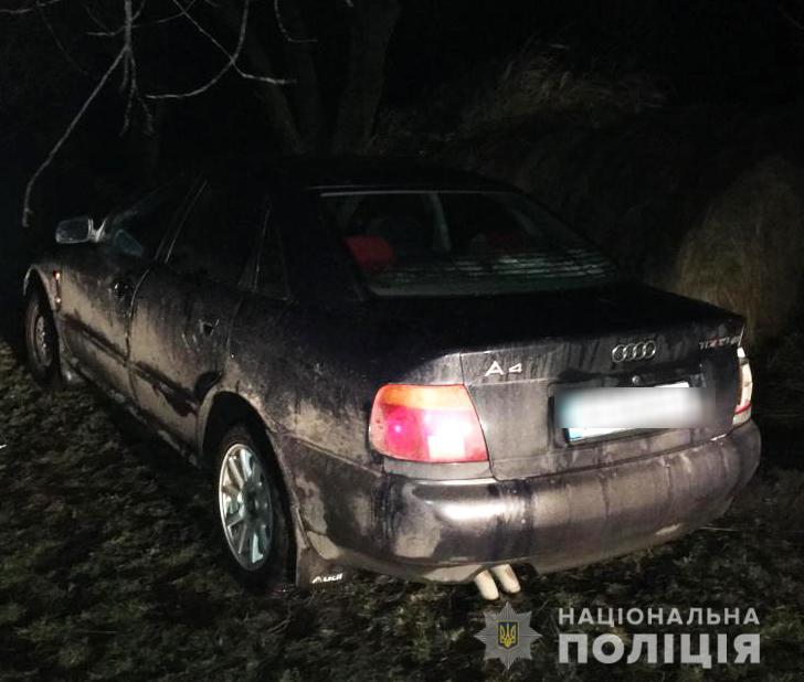 18-річний хлопець вкрав машину у волинянина