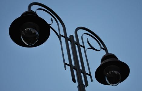 У луцькому парку реконструюють освітлення