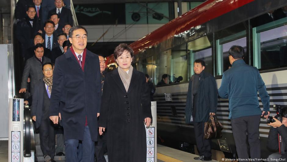Південна та Північна Корея символічно об'єднали свої залізниці