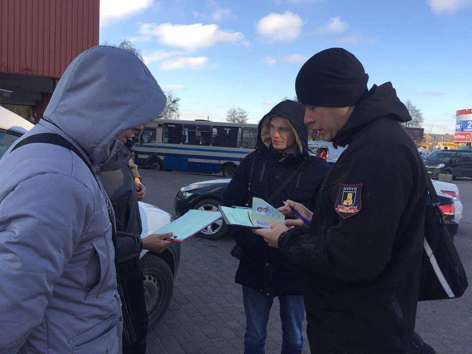 У Луцьку муніципали впіймали понад 150 курців
