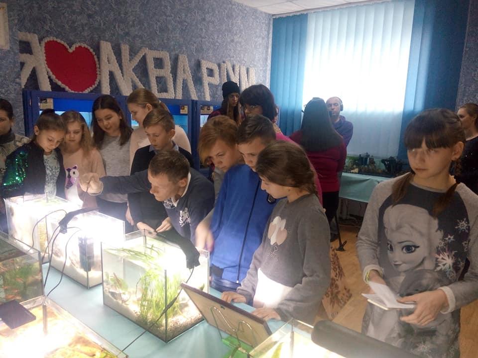 У Луцьку відкрили виставку акваріумів