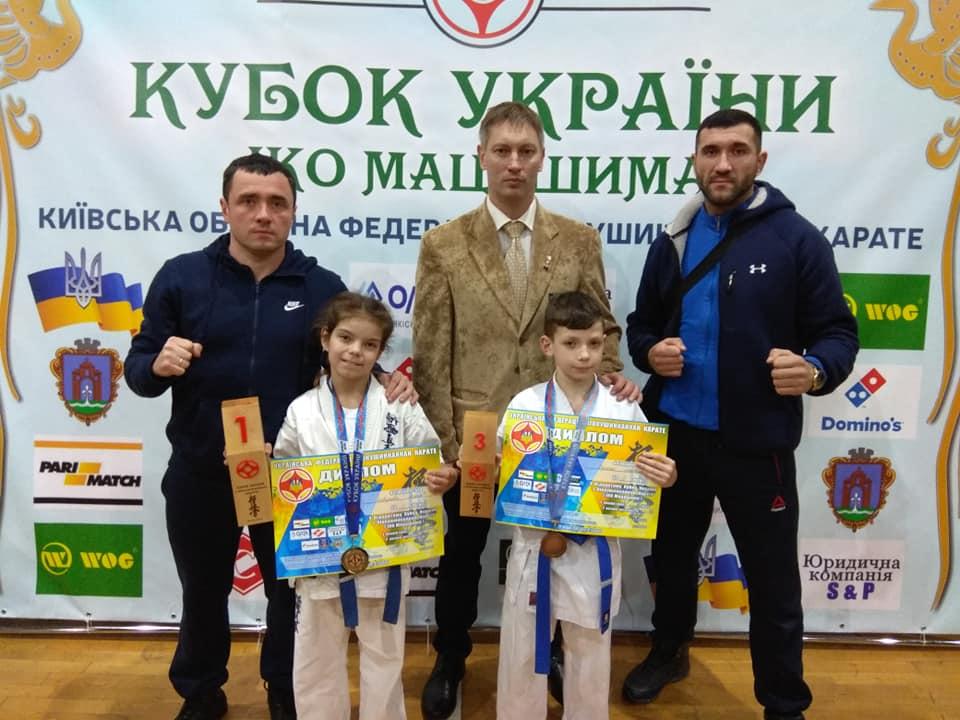 Діти з Луцька зайняли призові місця на змаганнях з кіокушинкай карате. ФОТО