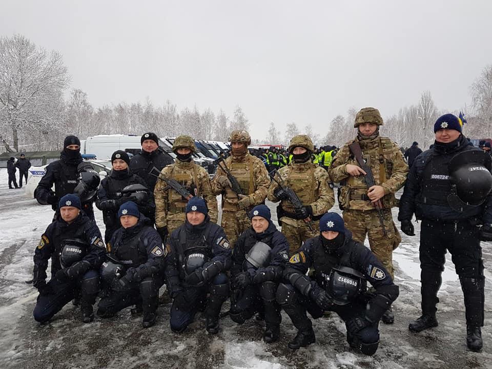Волинські патрульні взяли участь у масштабних тактико-спеціальних навчаннях МВС