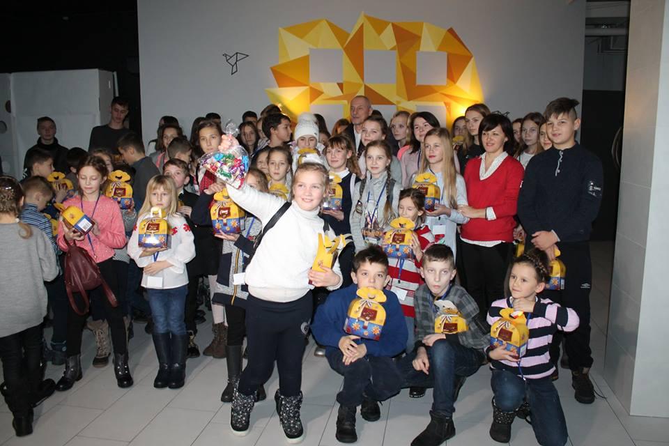 У Луцьку дітям загиблих атовців вручили подарунки. ФОТО
