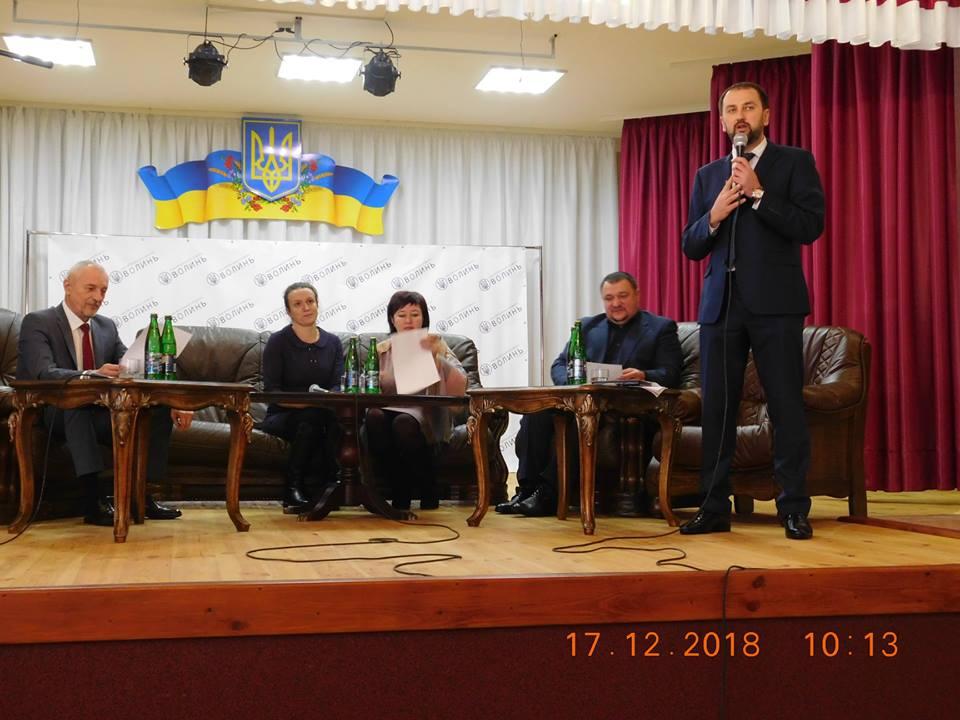 Відбулось засідання ради регіонального розвитку в Луцькому районі