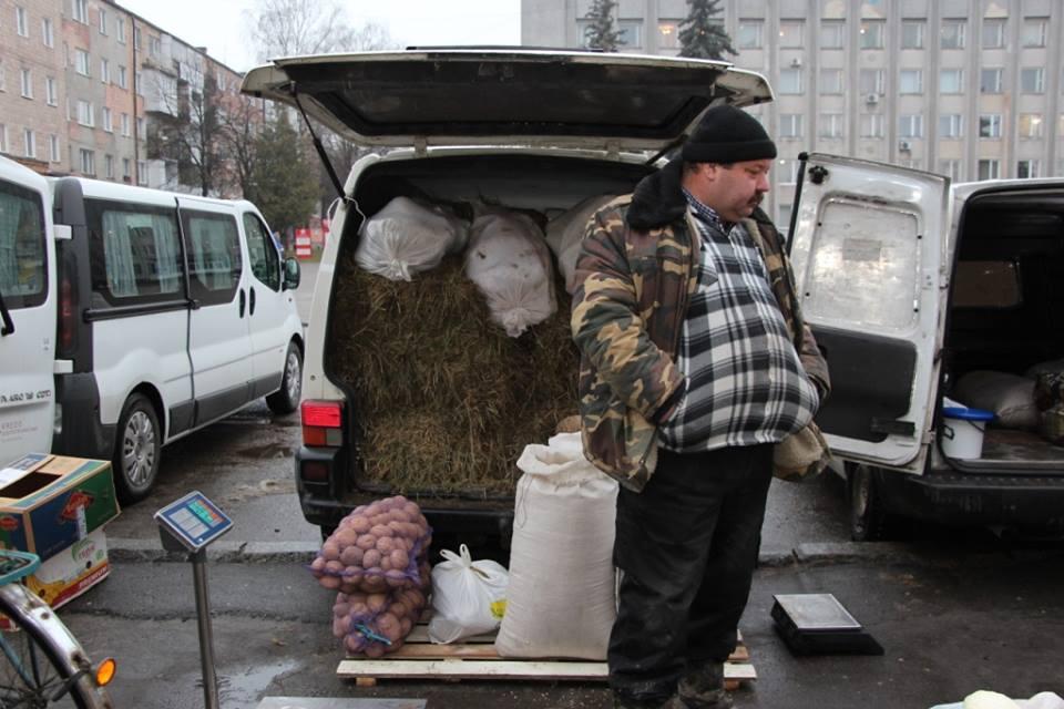 М'ясо і мед: на Волині відбувся сільськогосподарський ярмарок. ФОТО