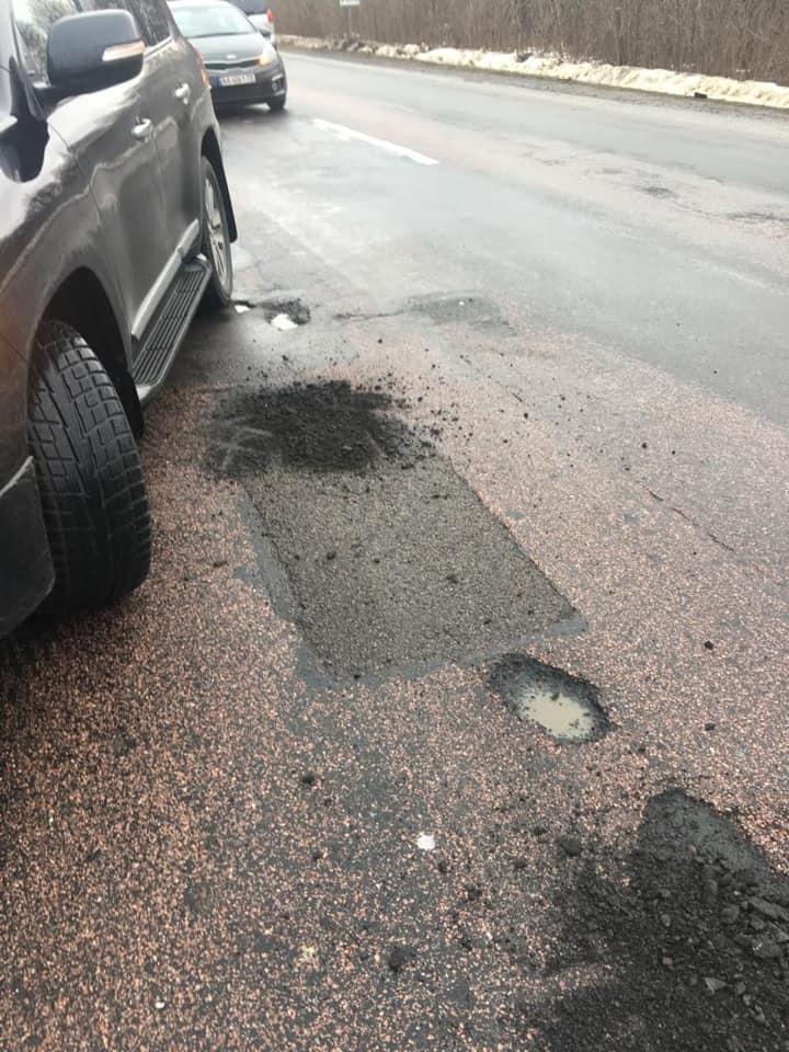Голова ОДА Волині випадково знайшов погано відремонтовану дорогу