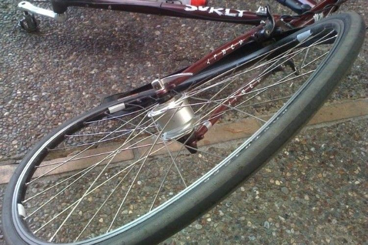 Лучанин на велосипеді потрапив під колеса авто