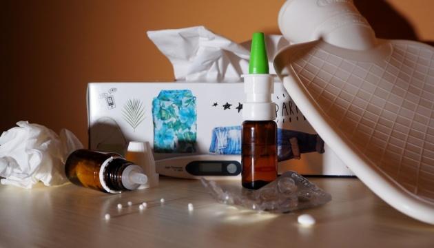 Епідпоріг із грипу перевищений у дев'яти регіонах