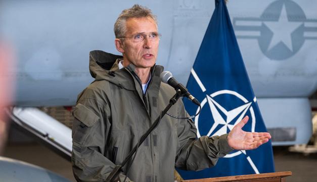 Столтенберг заявляє, що НАТО наростило присутність у Чорному морі