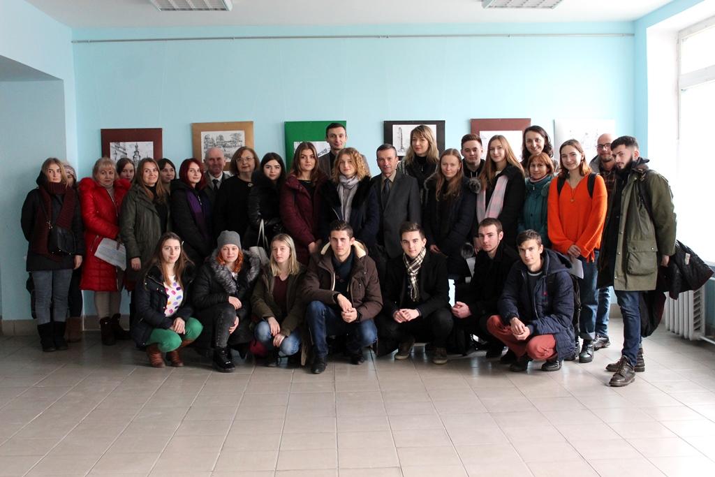У луцькому виші презентували проект студентів-архітекторів. ФОТО
