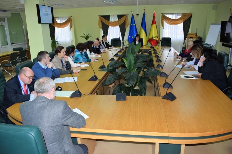 До ЦНАП міста Луцька завітала делегація з Києва