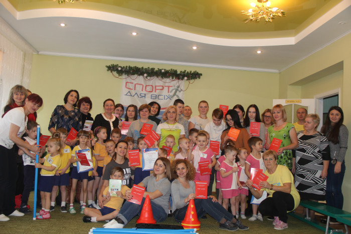У Луцьку для дітей з особливими потребами провели спортивне свято. ФОТО