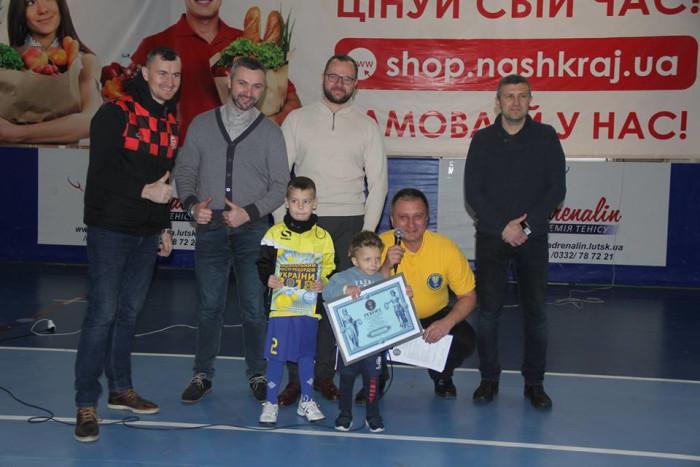У Луцьку розпочалися дитячі змагання із футзалу. ФОТО