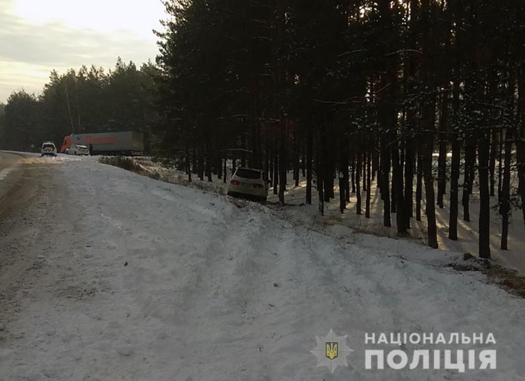 Троє волинян постраждали у ДТП на Житомирщині