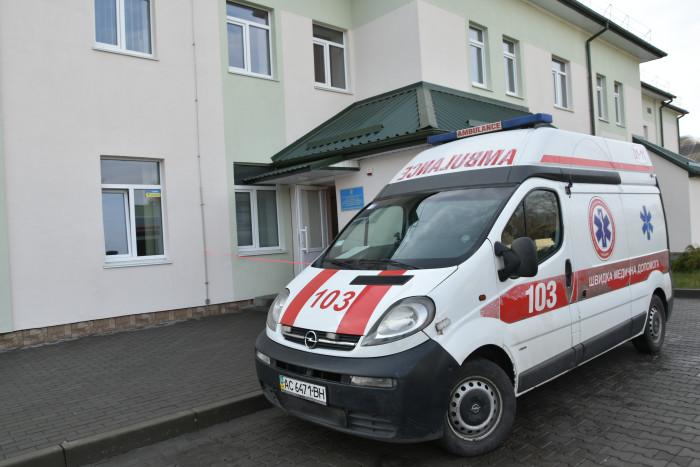 В оному з мікрорайонів Луцька відкрили пункт екстреної медичної допомоги. ФОТО