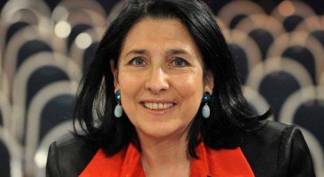 Президент Грузії склала присягу