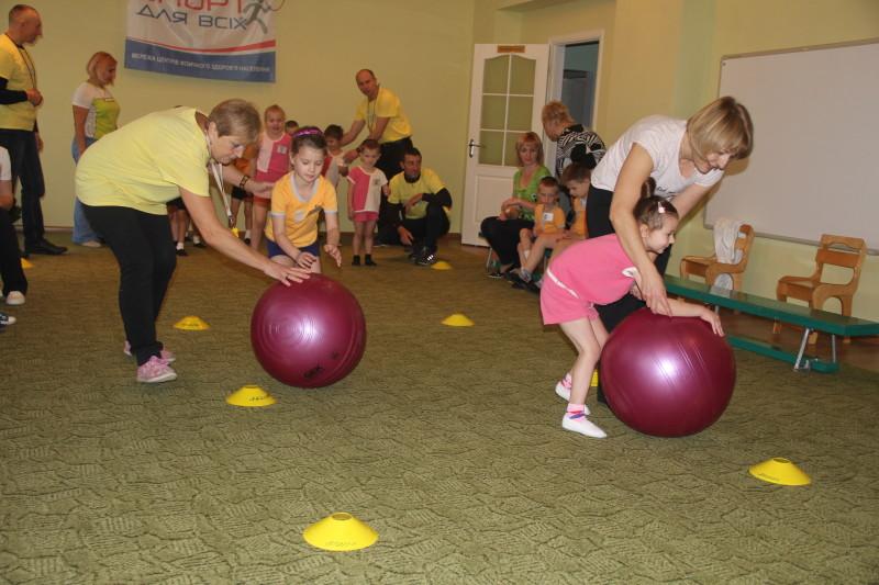 У Луцьку провели спортивне свято для дітей