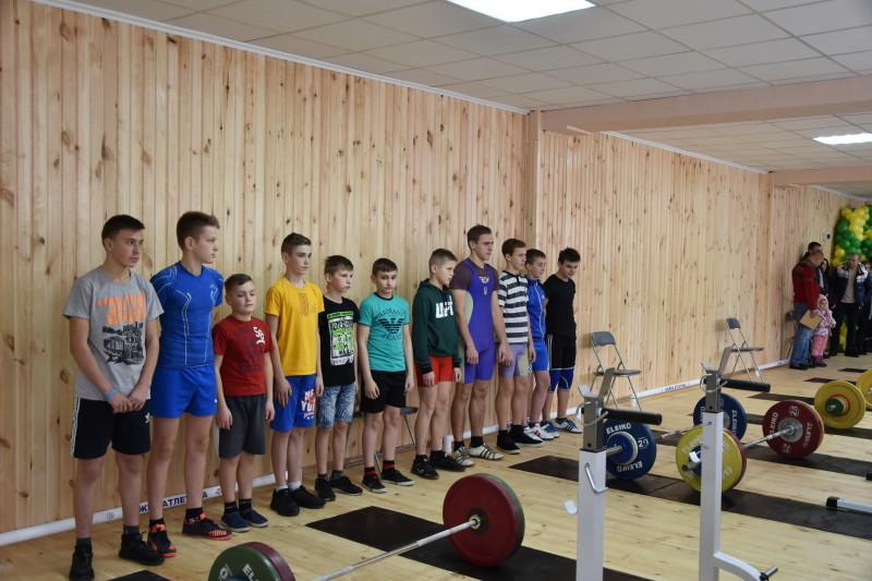 У Луцьку відкрили відремонтований зал Федерації важкої атлетики