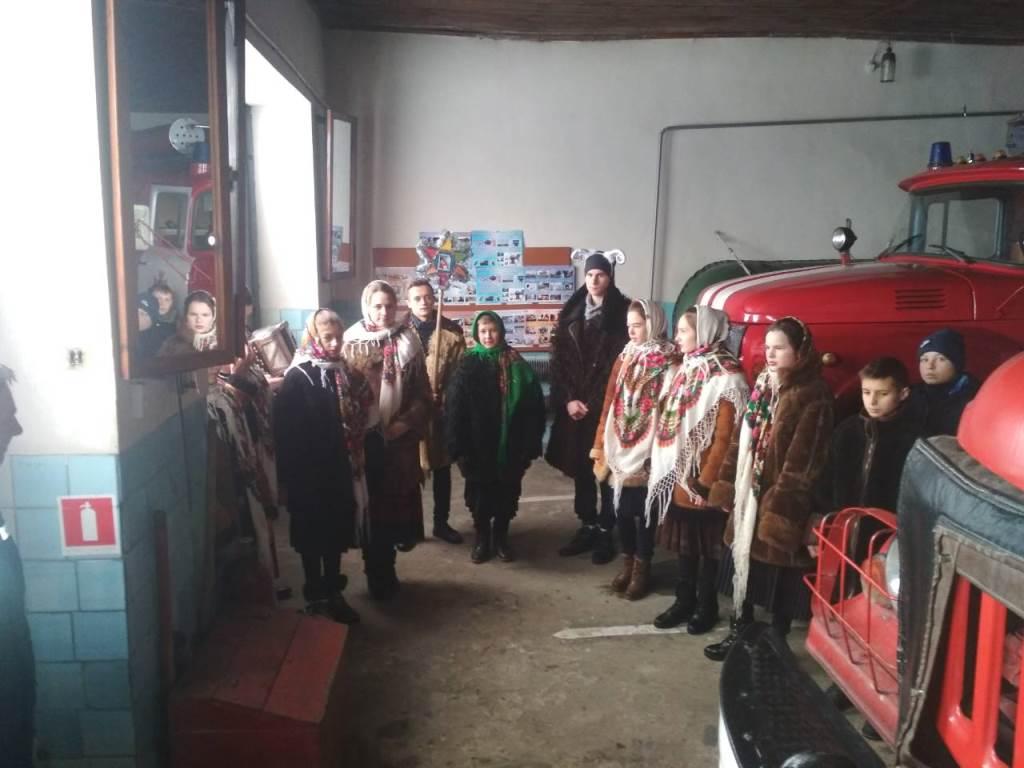 У Локачах до рятувальників завітали школярі