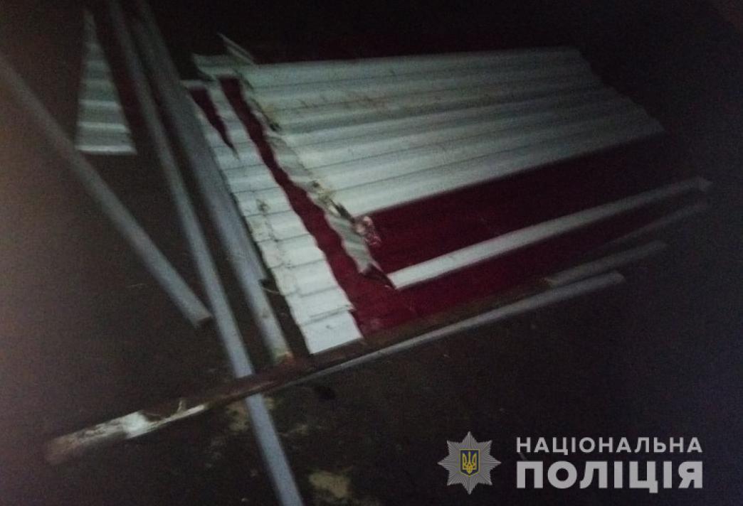 На Волині зловмисник викрав металевий каркас зупинки громадського транспорту