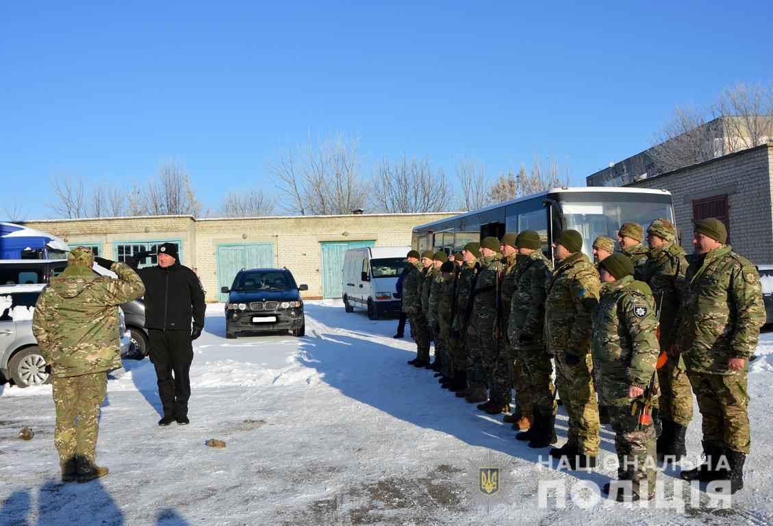 Волинський спецпідрозділ «Світязь» вирушив в зону проведення ООС