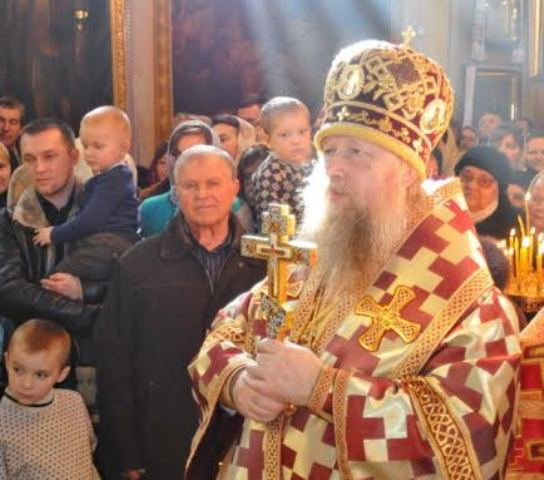 На Волині селяни не пустили єпископа Нафанаїла в храм