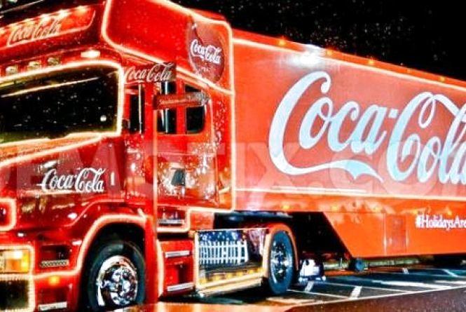 У Луцьк приїде новорічна вантажівка «Coca-Cola»