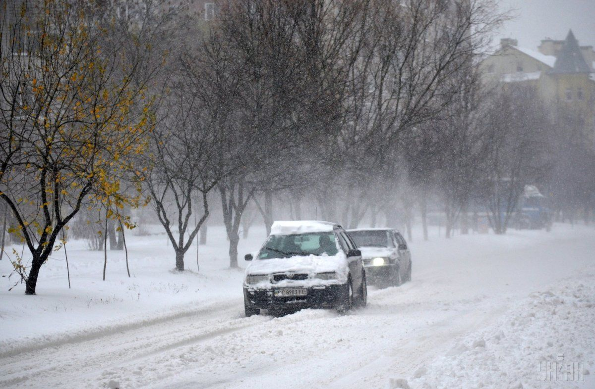 На Волині водіїв попереджають про ускладнення погодних умов на дорогах