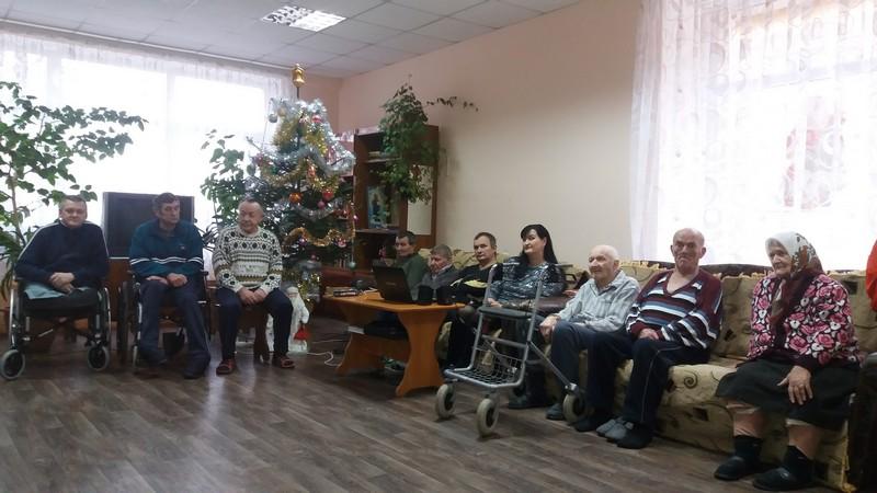 У Ковелі центру соціального обслуговування влаштували свято. ФОТО
