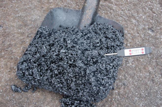 На Волині провели екперимент із застосування нової технології ремонту доріг. ФОТО
