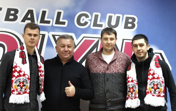 Луцький футбольний клуб поповнився двома новими гравцями