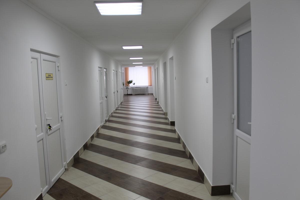 У Горохівській районній лікарні запрацювало оновлене терапевтичне відділення. ФОТО