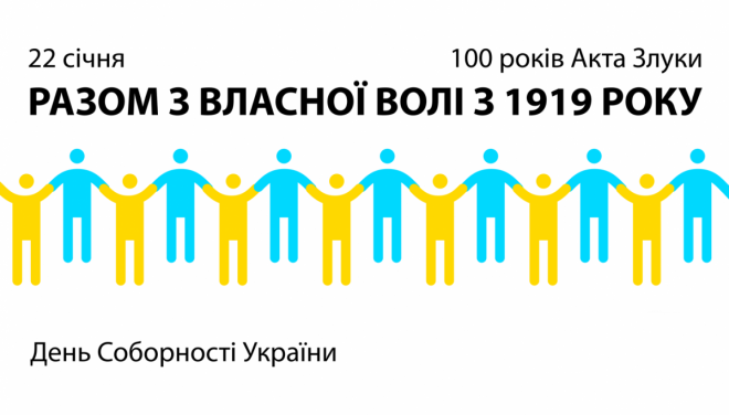 День Соборності України: анонс заходів у Луцьку