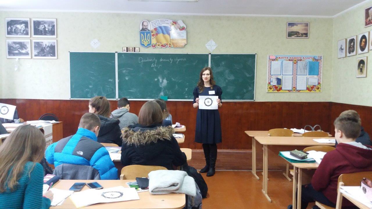 Луцьких школярів навчали обирати професію. ФОТО