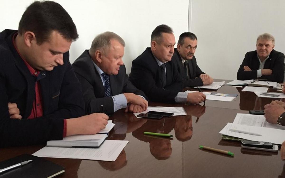 У Волинській ОДА обговорили перспективи залізничних перевезень сільгоспродукції