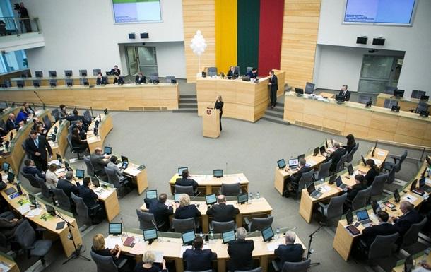 У Литві думають над скороченням кількості депутатів Сейму