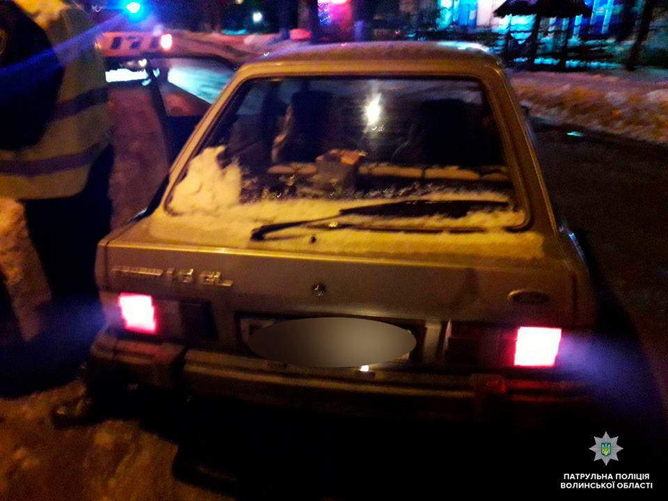 Волинські патрульні затримали шістьох п'яних водіїв