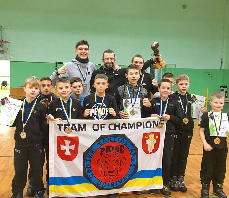 Волинські юнаки здобули перемогу на Чемпіонаті України