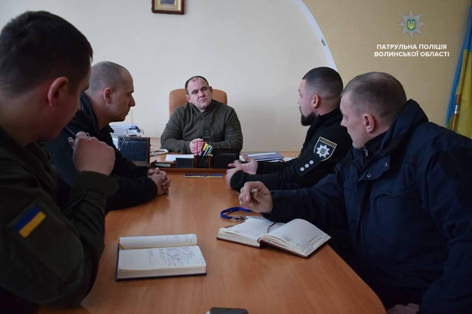 Нацгвардійці та патрульні виїдуть у перше спільне автопатрулювання Луцьком