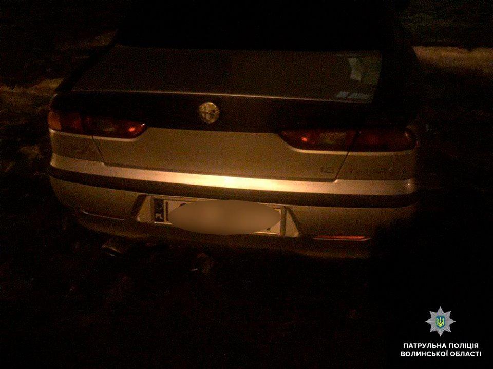 У Луцьку п'яний водій здійснив ДТП та намагався втекти від патрульних