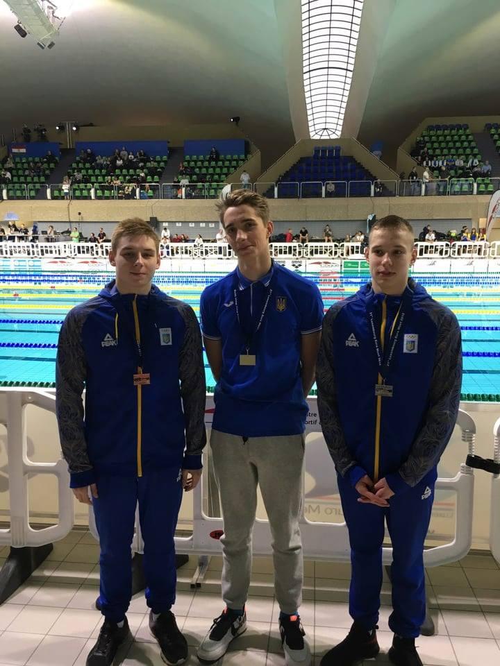 Луцькі спортсмени отримали дві медалі на міжнародних змаганнях з плавання. ФОТО