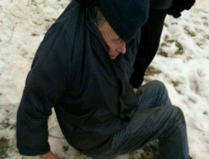 У Луцьку посеред вулиці виявили п'яного чоловіка