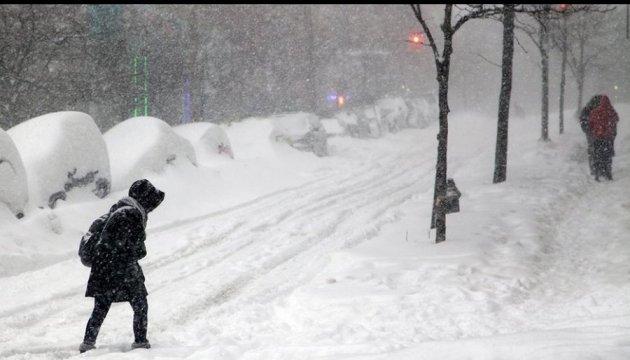 В Україні очікують очікують мокрий сніг, дощ та хуртовини