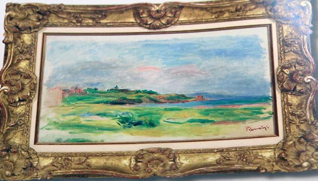 Злодій-професіонал з України вкрав картину Ренуара у Відні